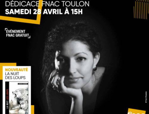 Dédicaces de Hanna VERNET : découvrez le programme d'avril-mai !
