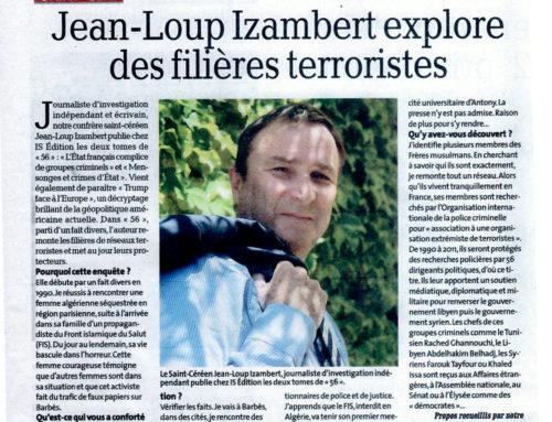 Revue de presse des livres de Jean-Loup IZAMBERT présentés dans les médias