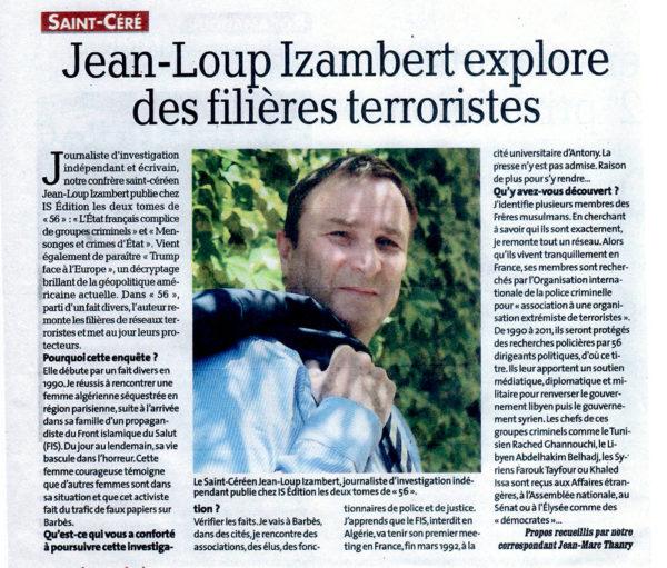 Jean-Loup Izambert - La Dépêche du Midi
