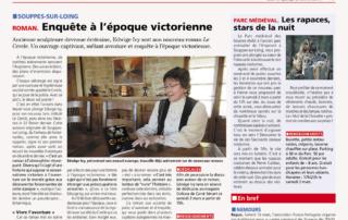 """Article de La République sur """"Le Cercle"""" de Edwige IVY"""
