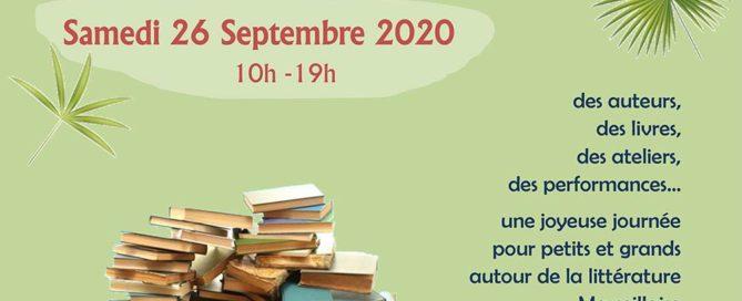 Affiche du salon Écrits grains Marseille