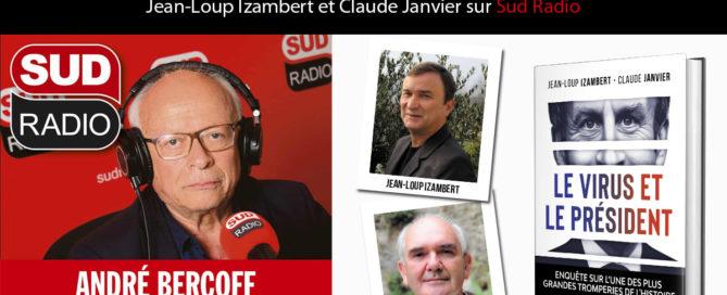 """Jean-Loup Izambert et Claude Janvier dans """"Bercoff dans tous ses états"""" (Sud Radio)"""