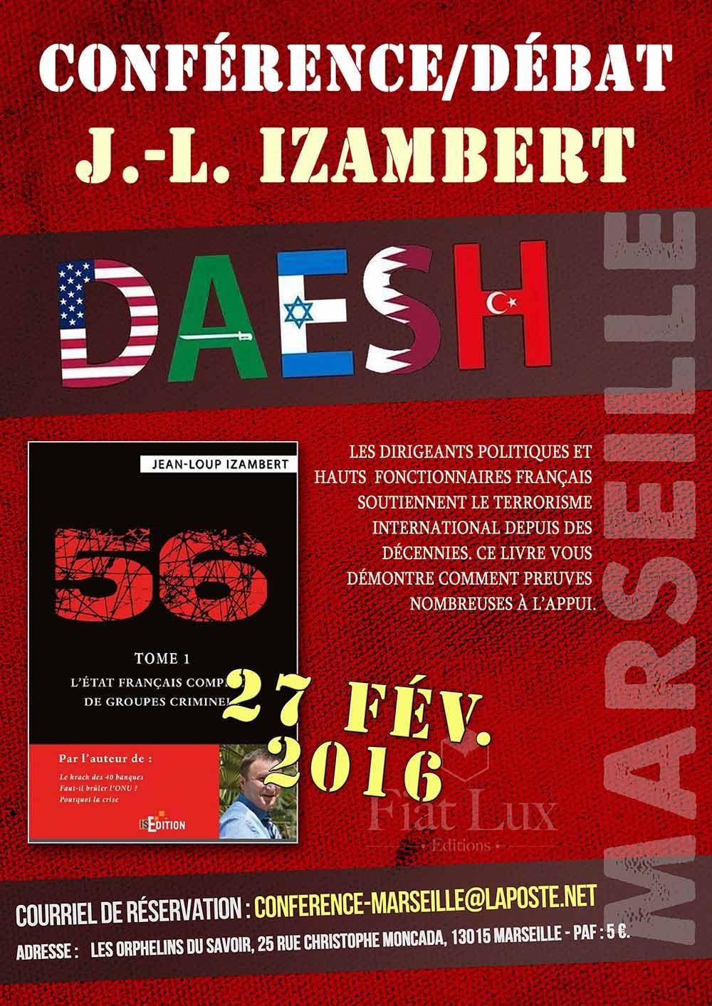 """Conférence Le Libre Penseur (""""livre """"56"""" de Jean-Loup IZAMBERT)"""