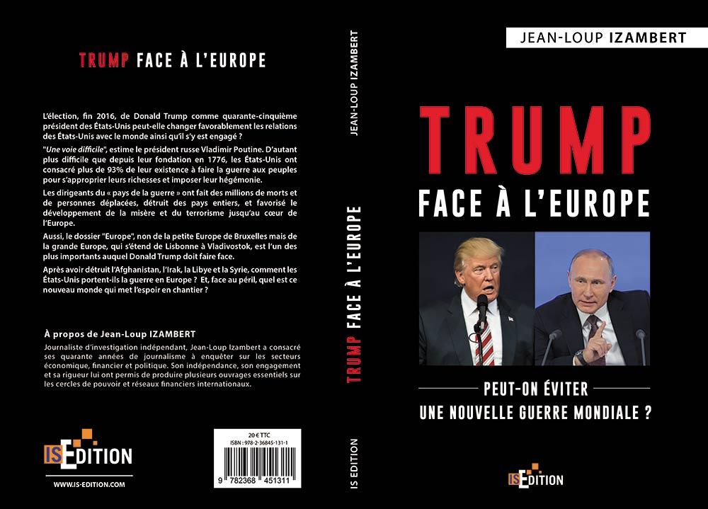 """Couverture """"Trump face à l'Europe"""""""