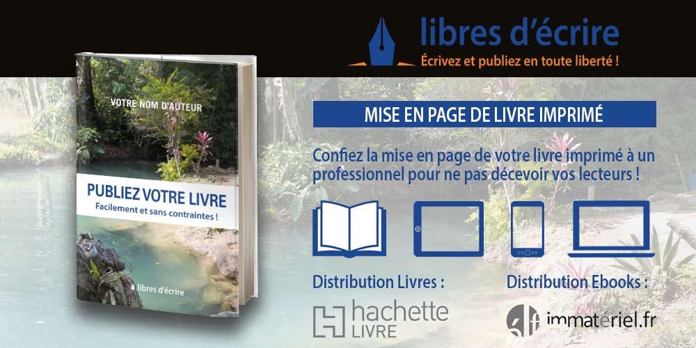 Services auto-édition livre imprimé