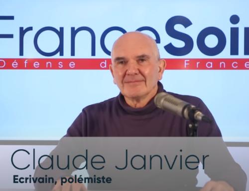 Interview vidéo de Claude Janvier («Le virus et le Président») dans «Face à Face», une émission de France Soir