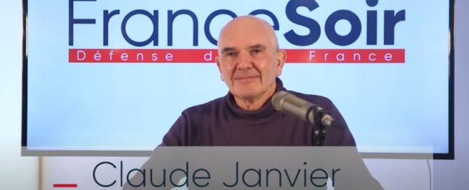 """Interview de Claude Janvier (""""Le virus et le Président"""") sur France Soir"""