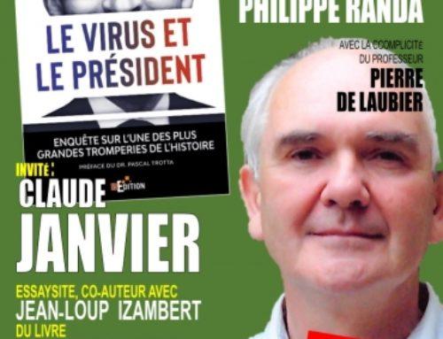 Claude Janvier («Le virus et le Président») dans l'émission «Synthèse» de TV Libertés