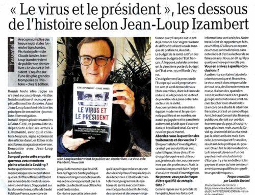 Interview de Jean-Loup Izambert («Le virus et le Président») sur La Dépêche