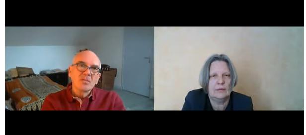 Interview vidéo de Claude Janvier (Le virus et le Président) sur Ciel voilé