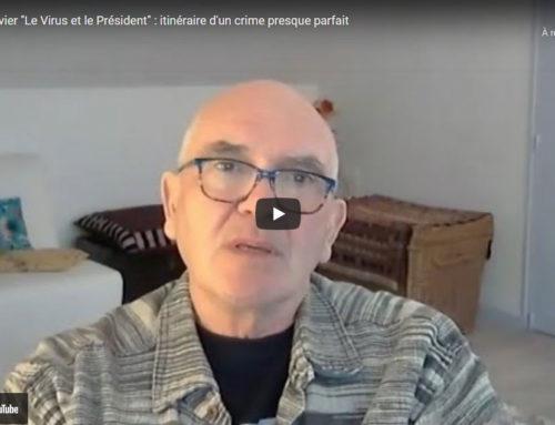 Interview vidéo de Claude Janvier (Le virus et le Président) sur France Liberté TV