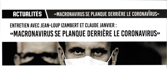Interview de Jean-Loup Izambert et Claude Janvier dans le magazine Rébellion