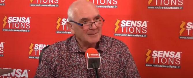 """Claude Janvier (""""Le virus et le Président"""") en vidéo sur Radio Sensations"""