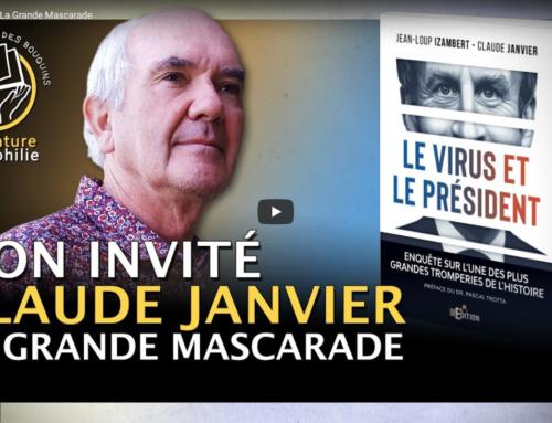 Interview vidéo de Claude Janvier (« Le virus et le Président ») sur la chaîne Youtube «Des paluches et des bouquins»