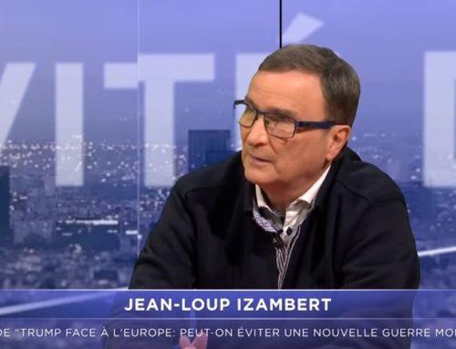 Interview video de Jean-Loup IZAMBERT sur TV Libertés au sujet de son livre «Trump face à l'Europe»