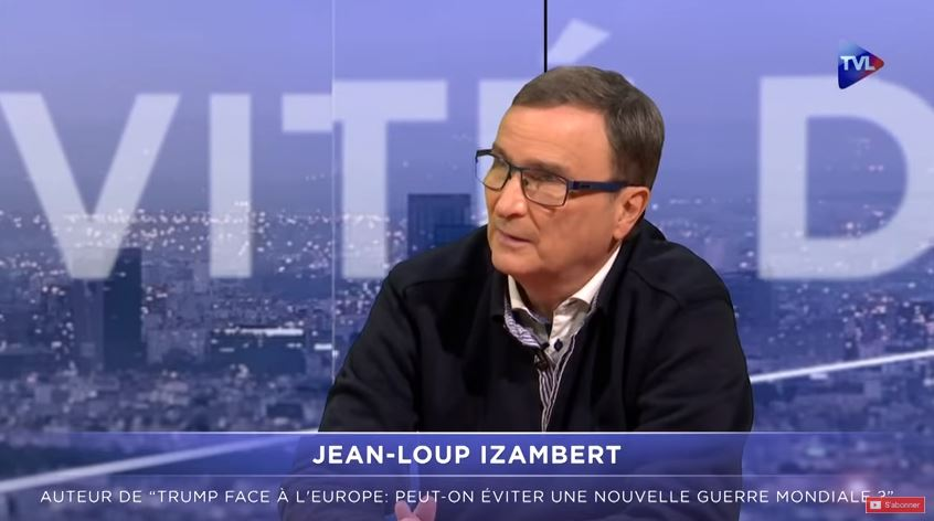 Interview de Jean-Loup IZAMBERT (Trump face à l'Europe) sur TV Libertés