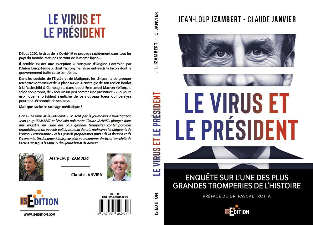 """Couverture """"Le virus et le Président"""""""