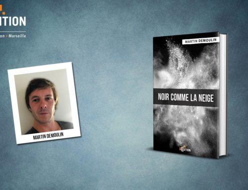 Parution de «Noir comme la neige» de Martin DEMOULIN, un livre introspectif et intense qui ne laissera personne indifférent