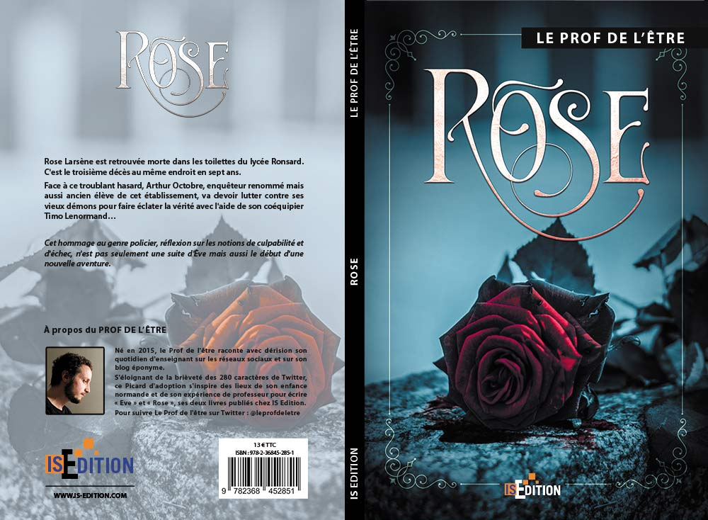 """Couverture """"Rose"""" (Le prof de l'être)"""